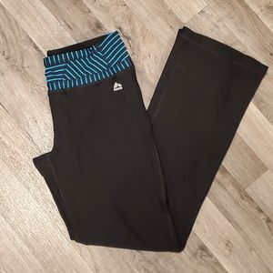 RBX Black and Blue Activewear Pants